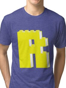 THE LETTER R, by Customize My Minifig Tri-blend T-Shirt