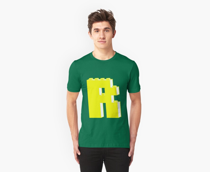 THE LETTER R, by Customize My Minifig by Customize My Minifig