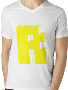 THE LETTER R, by Customize My Minifig Mens V-Neck T-Shirt