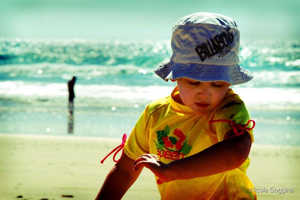 Holly on the beach by Nicole Goggins