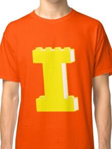 THE LETTER I, by Customize My Minifig Classic T-Shirt