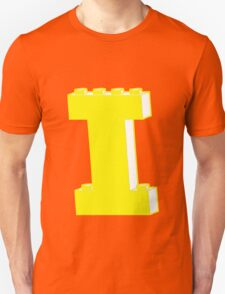 THE LETTER I, by Customize My Minifig Unisex T-Shirt