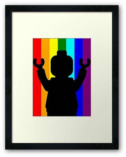 Minifig Pride by Customize My Minifig