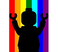 Minifig Pride Photographic Print