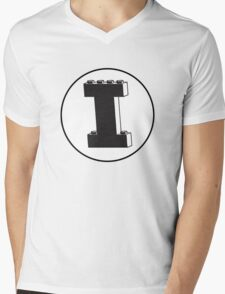 THE LETTER I Mens V-Neck T-Shirt