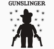 GUNSLINGER, by Customize My Minifig by ChilleeW