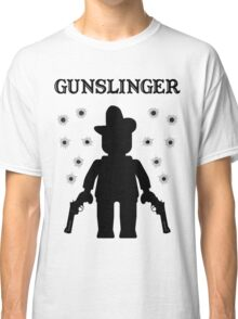 GUNSLINGER, by Customize My Minifig Classic T-Shirt