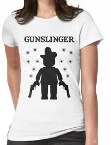 GUNSLINGER, by Customize My Minifig Womens Fitted T-Shirt