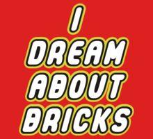 I DREAM ABOUT BRICKS One Piece - Short Sleeve