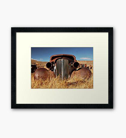 Rustic Car Framed Print
