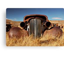 Rustic Car Canvas Print