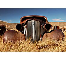 Rustic Car Photographic Print
