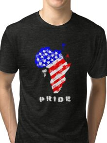 African American Pride Tri-blend T-Shirt