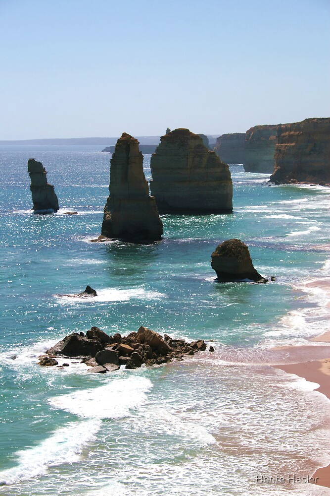 twelve apostles by Bente Hasler