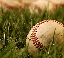 Nostalgic Baseballs by Karin  Hildebrand Lau