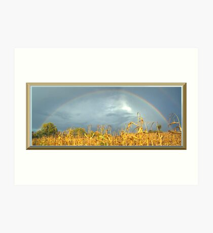 FULL RAINBOW Art Print