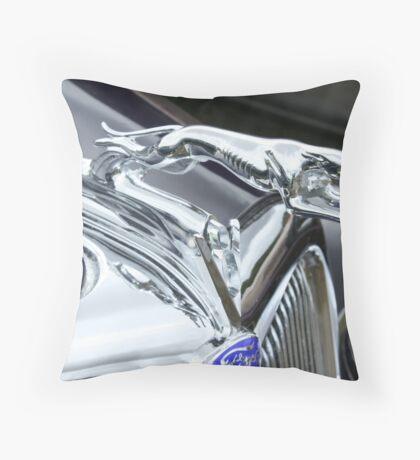Old Greyhound Throw Pillow