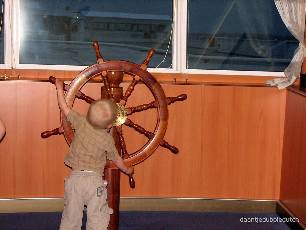 steering the boat... by daantjedubbledutch