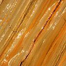 Orange rock. by britishphotos