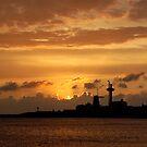 sunset skyline by Els Steutel