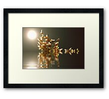 Sneaking Out Framed Print