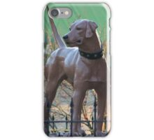 The McCoy Memorial Library Dog iPhone Case/Skin