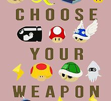 Choose your weapon by Capiemary