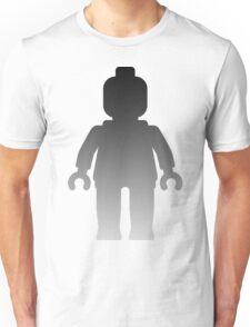 Minifig [Large Silver] Unisex T-Shirt