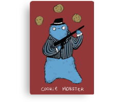 Cookie Mobster Canvas Print