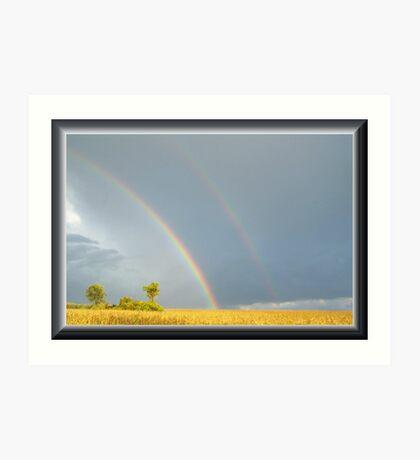 Rain and the Double Arc Art Print
