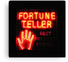 Fortune Teller Canvas Print
