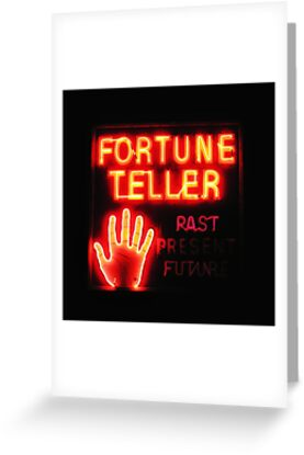 Fortune Teller by Karin  Hildebrand Lau