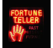 Fortune Teller Photographic Print