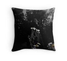 and the flowers will grow... Throw Pillow