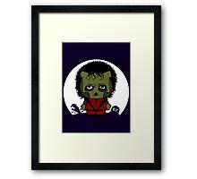 Hello Thriller Framed Print