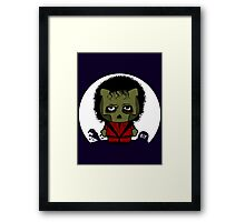 Hello Thriller Framed Print