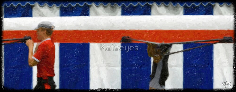 HENLEY ROYAL REGATTA - ROWERS 1 by Katseyes