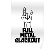 Full Metal Blackout Poster
