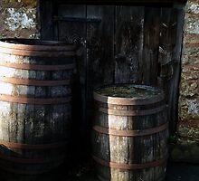 Cider Barrels by lynn carter