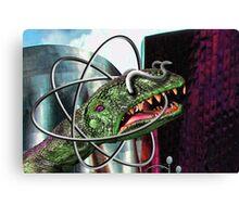 Atom Horn Canvas Print