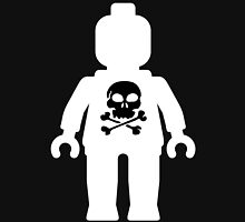 Minifig with Skull  Unisex T-Shirt