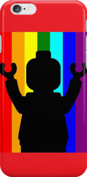 Minifig Pride by ChilleeW