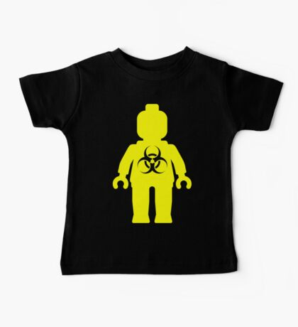 Minifig with Radioactive Symbol Baby Tee