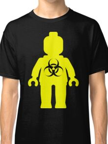 Minifig with Radioactive Symbol Classic T-Shirt