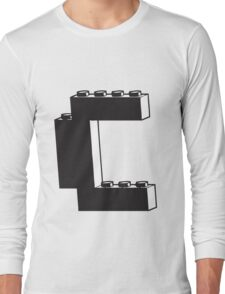 THE LETTER C Long Sleeve T-Shirt