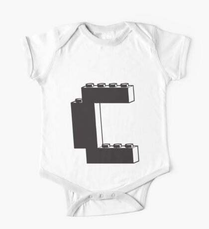 THE LETTER C One Piece - Short Sleeve