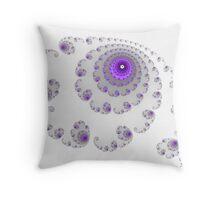 Galactic whirlpool Throw Pillow