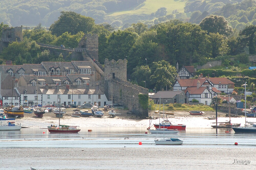 Conwy Harbour by JImage