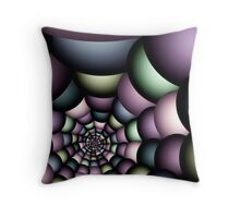 Into the web Throw Pillow