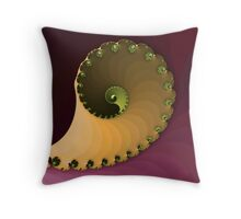 Yin yang cornucopia Throw Pillow